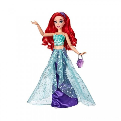 Disney Princess Style Series Ariel Doll with Purse and Shoes Free Shipping