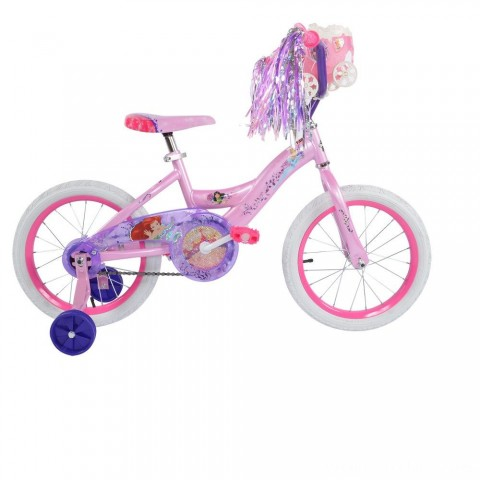 "Huffy Disney Princess Bike 16"" - Pink, Girl's Free Shipping"