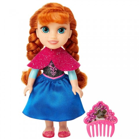 Disney Princess Petite Anna Fashion Doll Free Shipping