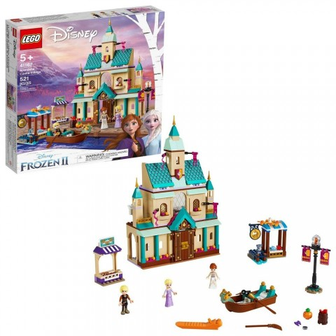 LEGO Disney Princess Frozen 2 Arendelle Castle Village 41167 Toy Castle Building Set for Imaginative Play Free Shipping