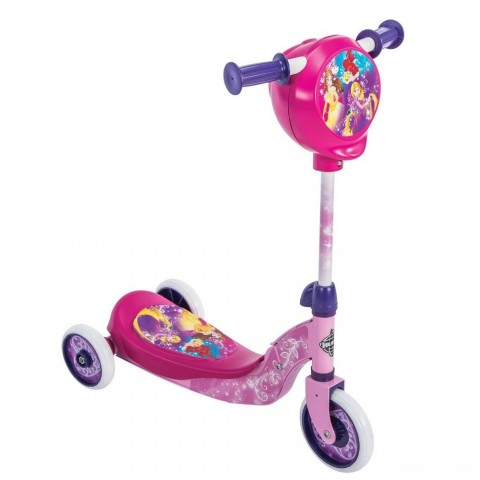 Huffy Disney Princess Secret Storage Scooter, Kids Unisex, Pink Free Shipping