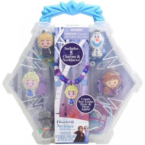 Disney Frozen 2 Necklace Activity Set Free Shipping