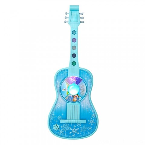 Disney Frozen Magic Touch Guitar with Lights and Sounds Free Shipping