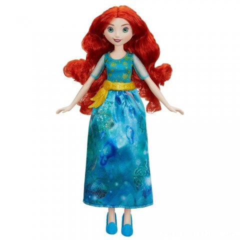 Disney Princess Royal Shimmer - Merida Doll Free Shipping