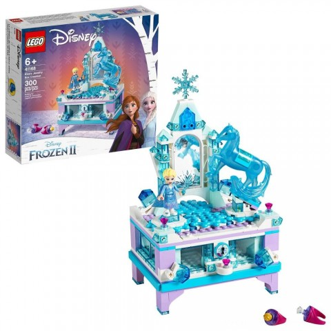 LEGO Disney Princess Frozen 2 Elsa's Jewelry Box Creation 41168 Disney Jewelry Box Building Kit 300pc Free Shipping