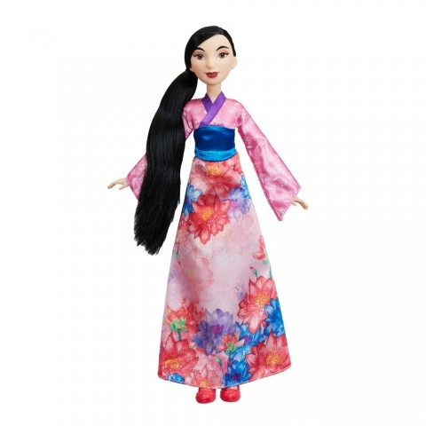 Disney Princess Royal Shimmer - Mulan Doll Free Shipping