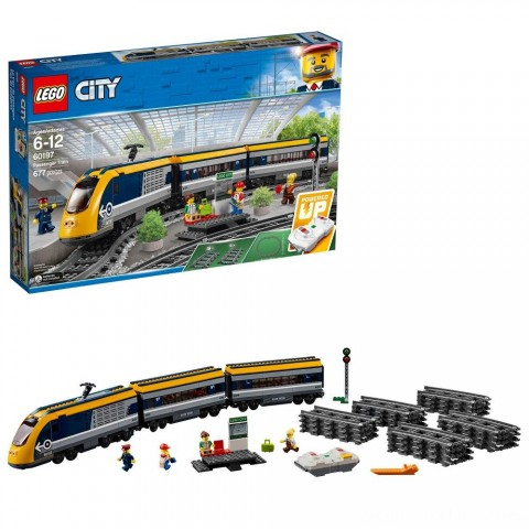 LEGO City Passenger Train 60197 Free Shipping