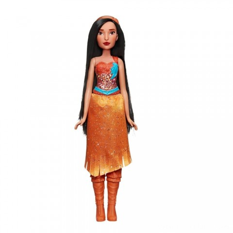 Disney Princess Royal Shimmer - Pocahontas Doll Free Shipping