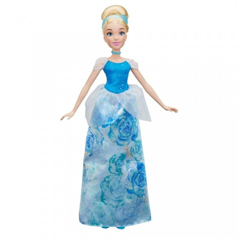 Disney Princess Royal Shimmer - Cinderella Doll Free Shipping