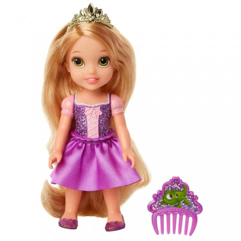 Disney Princess Petite Rapunzel Fashion Doll Free Shipping