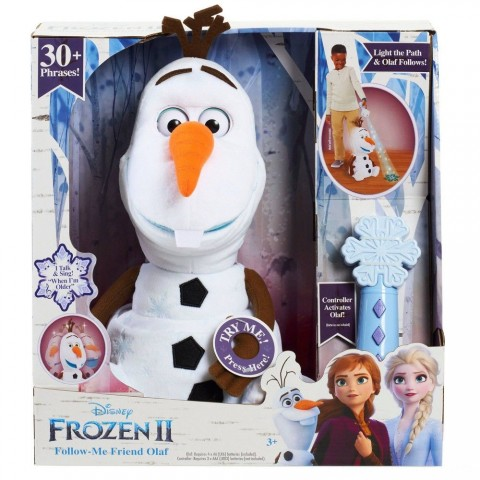 Disney Frozen 2 Follow Me Friend Olaf Free Shipping