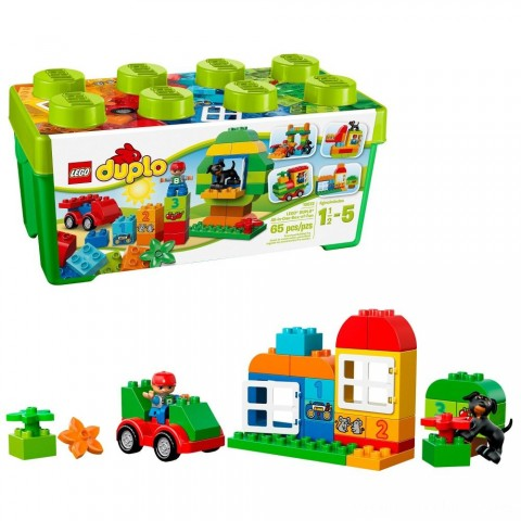 LEGO DUPLO My First All-in-One-Box-of-Fun 10572 Free Shipping
