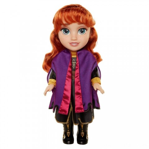 Black Friday 2020 Sale Disney Frozen 2 Anna Adventure Doll Free Shipping