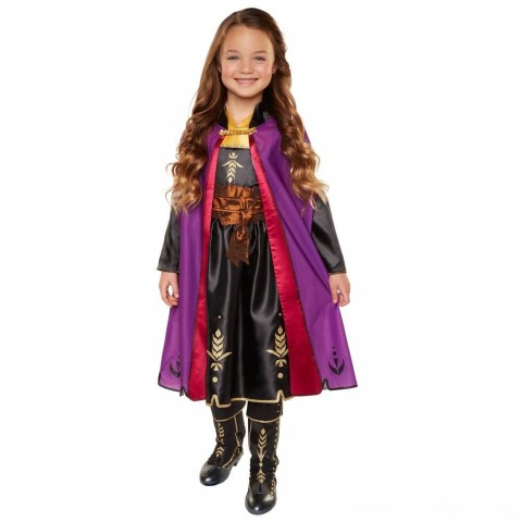 Black Friday 2020 Sale Disney Frozen 2 Anna Travel Dress, Size: Small, MultiColored Free Shipping