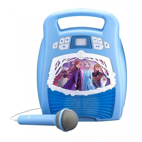 Disney Frozen 2 MP3 Karaoke Light Show with Microphone Free Shipping