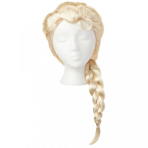Black Friday 2020 Sale Disney Frozen 2 Elsa Wig, Yellow Free Shipping