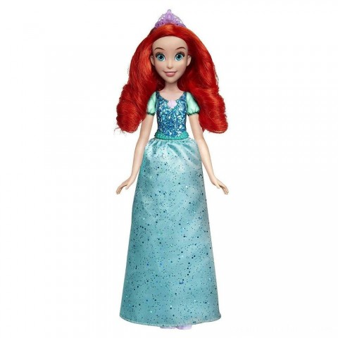 Disney Princess Royal Shimmer - Ariel Doll Free Shipping