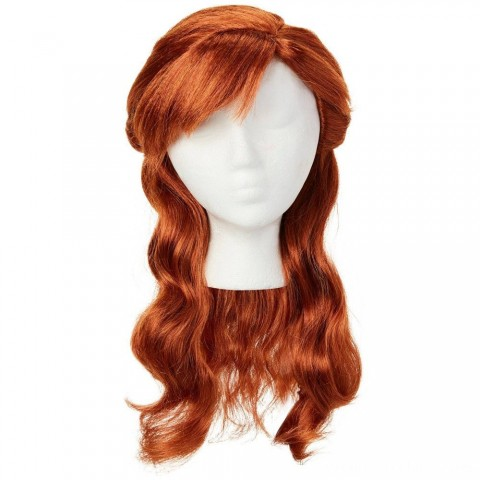 Black Friday 2020 Sale Disney Frozen 2 Anna Wig, Red Free Shipping