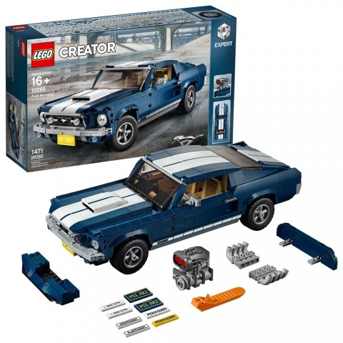 Black Friday 2020 Sale LEGO Creator Expert Vehicles Ford Mustang 10265 Free Shipping