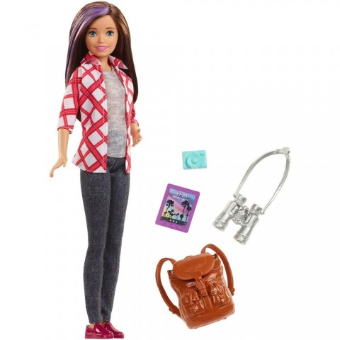 Barbie Travel Skipper Doll Free Shipping