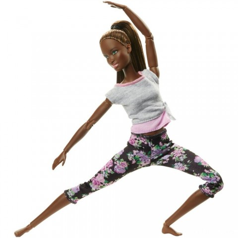 Barbie Made To Move Yoga Nikki Doll Free Shipping