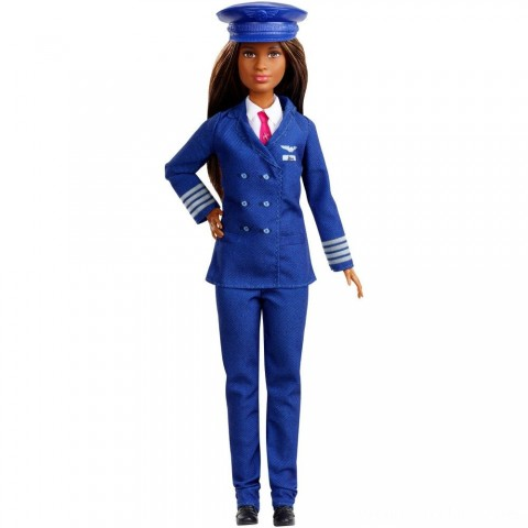 Barbie Careers 60th Anniversary Pilot Doll Free Shipping