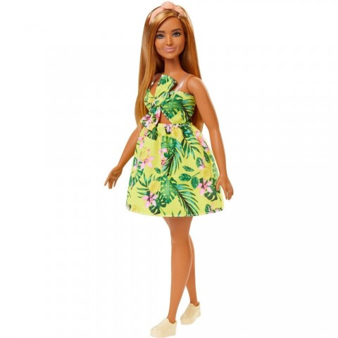 Barbie Fashionistas Doll #126 Jungle Dress Free Shipping