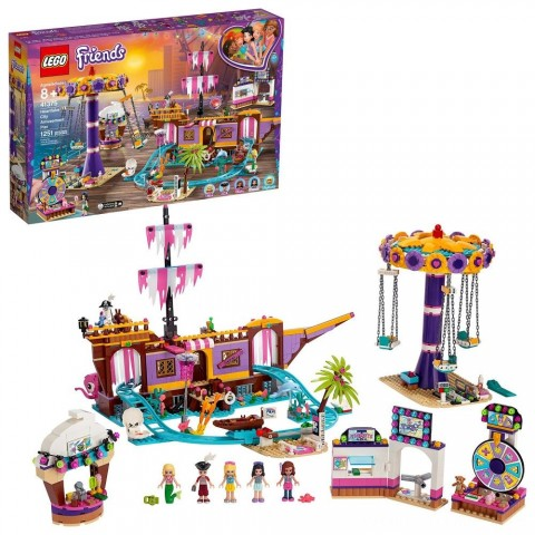 Black Friday 2020 Sale LEGO Friends Heartlake City Amusement Park with Toy Rollercoaster Building Set with Mini Dolls 41375 Free Shipping