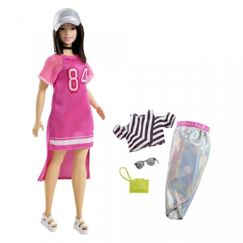 Barbie Fashionista Hot Mesh Doll Free Shipping
