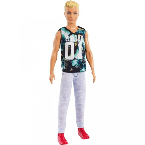 Barbie Ken Fashionistas Doll - Game Sunday Free Shipping
