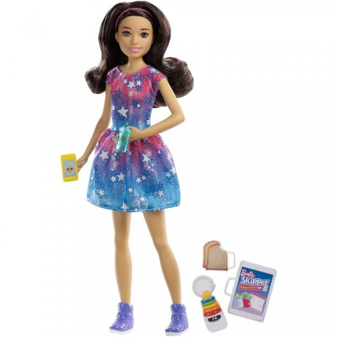 Barbie Skipper Babysitters Inc. Brunette Doll Playset Free Shipping
