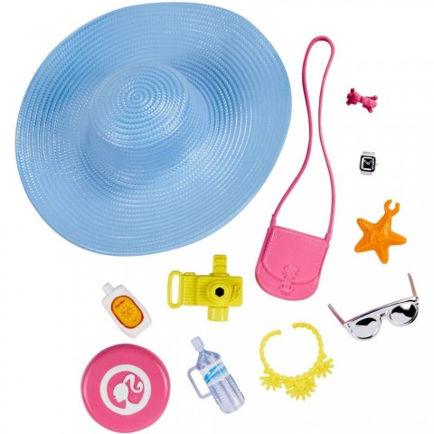 Black Friday 2020 Sale Barbie Fashion Sightseeing Accessory Pack Free Shipping