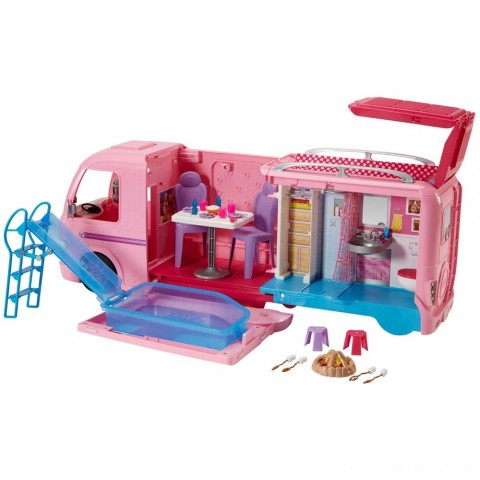 Barbie Dream Camper Playset Free Shipping