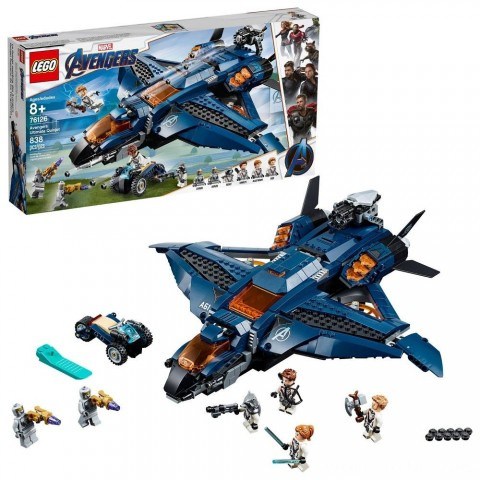 LEGO Marvel Avengers Ultimate Quinjet 76126 Free Shipping