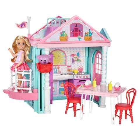 Black Friday 2020 Sale Barbie Club Chelsea Doll and Playhouse Free Shipping