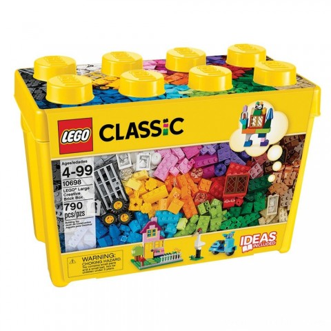 Black Friday 2020 Sale LEGO Classic Large Creative Brick Box 10698 Build Your Own Creative Toys, Kids Building Kit Free Shipping