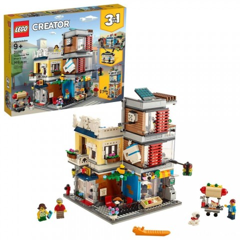 Black Friday 2020 Sale LEGO Creator Townhouse Pet Shop & Café 31097 Free Shipping