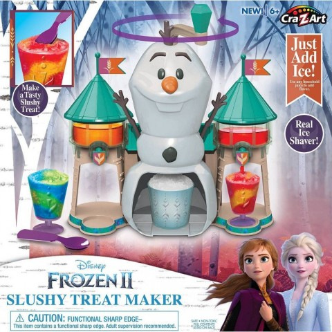 Disney Frozen 2 Slushy Treat Maker Activity Kit Free Shipping