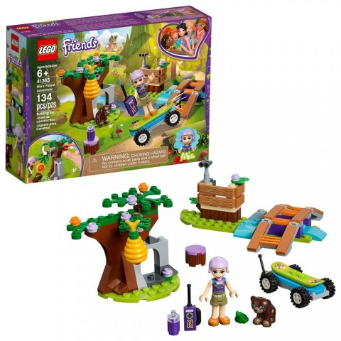 LEGO Friends Mia's Forest Adventure 41363 Free Shipping
