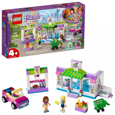 LEGO Friends Heartlake City Supermarket 41362 Building Set, Mini Dolls, Supermarket Playset 140pc Free Shipping