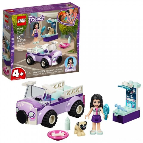 Black Friday 2020 Sale LEGO Friends Emma's Mobile Vet Clinic 41360 Free Shipping