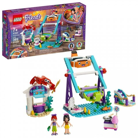 Black Friday 2020 Sale LEGO Friends Underwater Loop 41337 Amusement Park Building Kit with Mini Dolls for Group Play 389pc Free Shipping