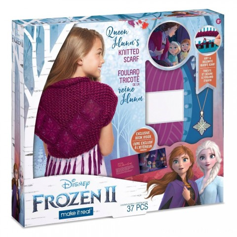 Disney Frozen 2 Queen Iduna's Knitted Shawl Free Shipping