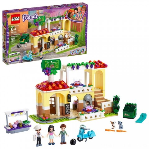 Black Friday 2020 Sale LEGO Friends Heartlake City Restaurant 41379 Building Kit with Restaurant Playset and Mini Dolls Free Shipping