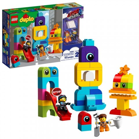 THE LEGO MOVIE 2 Emmet and Lucy's Visitors from the DUPLO 10895 Free Shipping