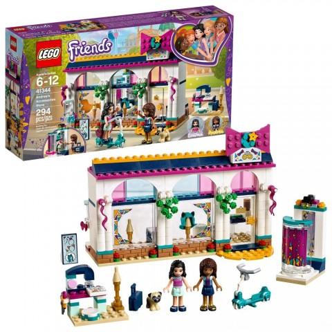 Black Friday 2020 Sale LEGO Friends Andrea's Accessories Store 41344 Free Shipping
