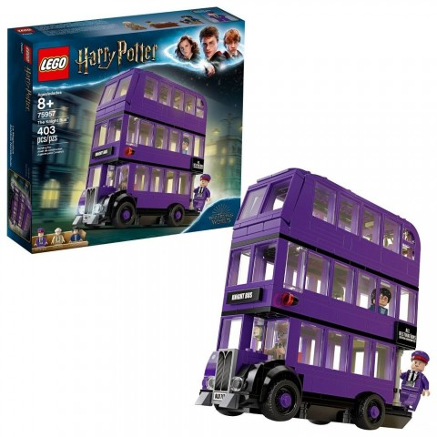LEGO Harry Potter The Knight Bus 75957 Triple Decker Toy Bus Building Kit 403pc Free Shipping