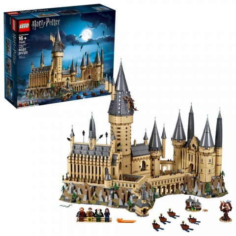 LEGO Harry Potter Hogwarts Castle Advanced Building Set Model with Harry Potter Minifigures 71043 Free Shipping