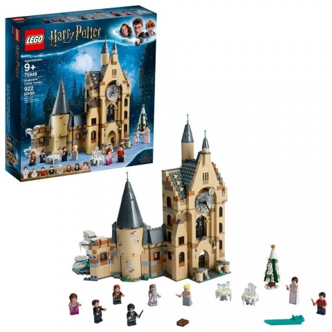 LEGO Harry Potter and The Goblet of Fire Hogwarts Clock Tower Castle Playset with Minifigures 75948 Free Shipping