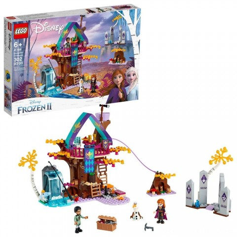 LEGO Disney Princess Frozen 2 Enchanted Treehouse 41164 Toy Treehouse Building Kit for Pretend Play Free Shipping